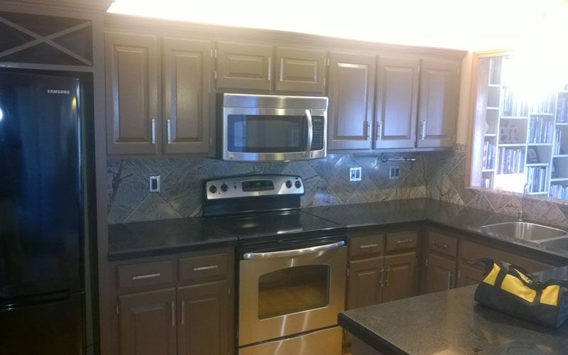 Professional Kitchen Cabinet Painting Cabinet Painter In Kansas City
